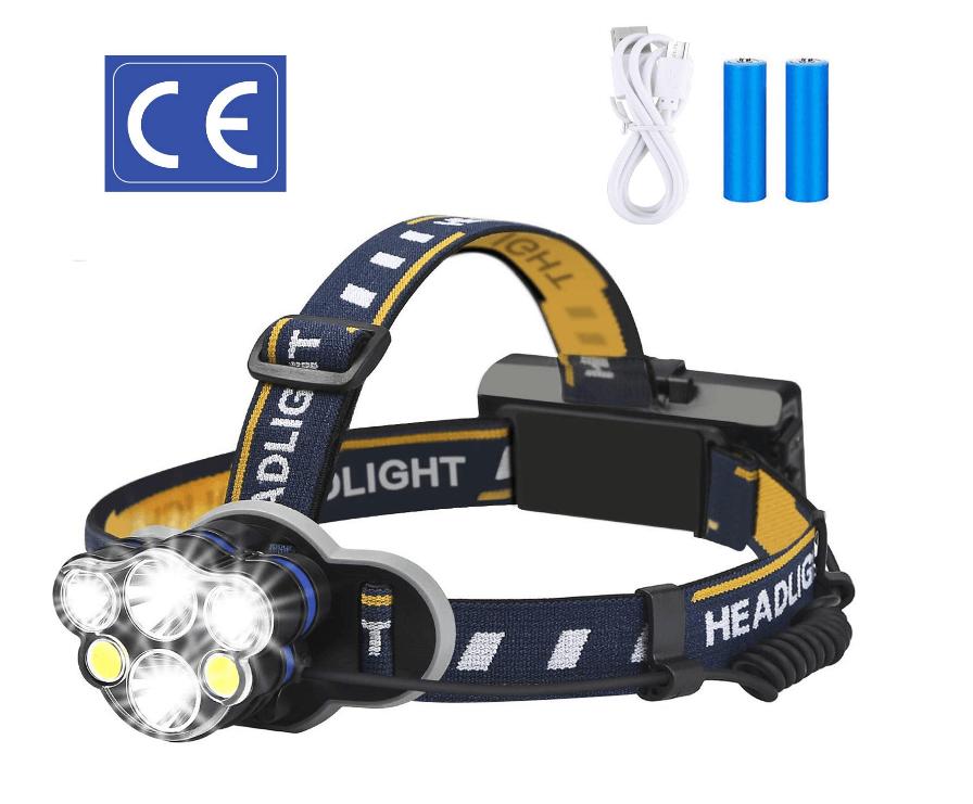 ELMCHEE Rechargeable headlamp Waterproof Flashlight