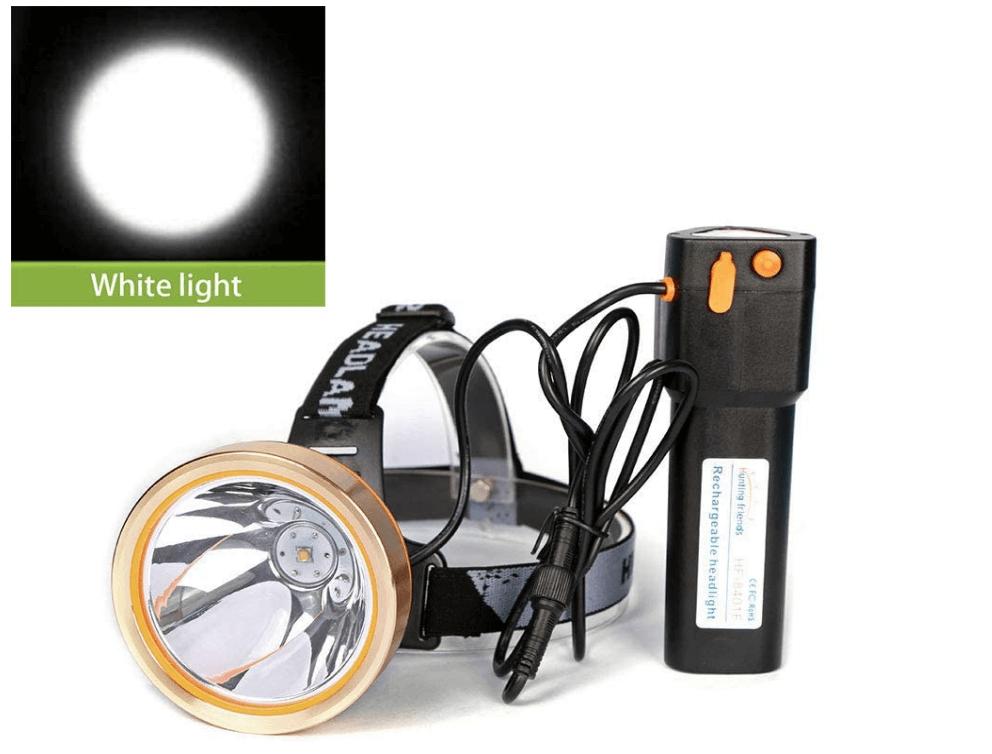 Hunting Rechargeable Headlight Waterproof Flashlight