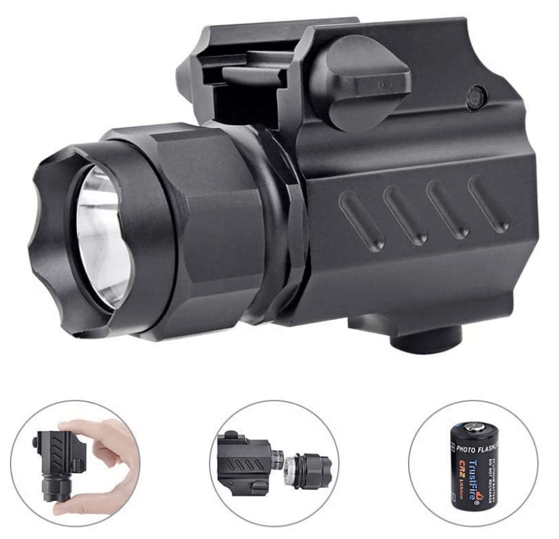 Picatinny Flashlight Release TrustFire Tactical
