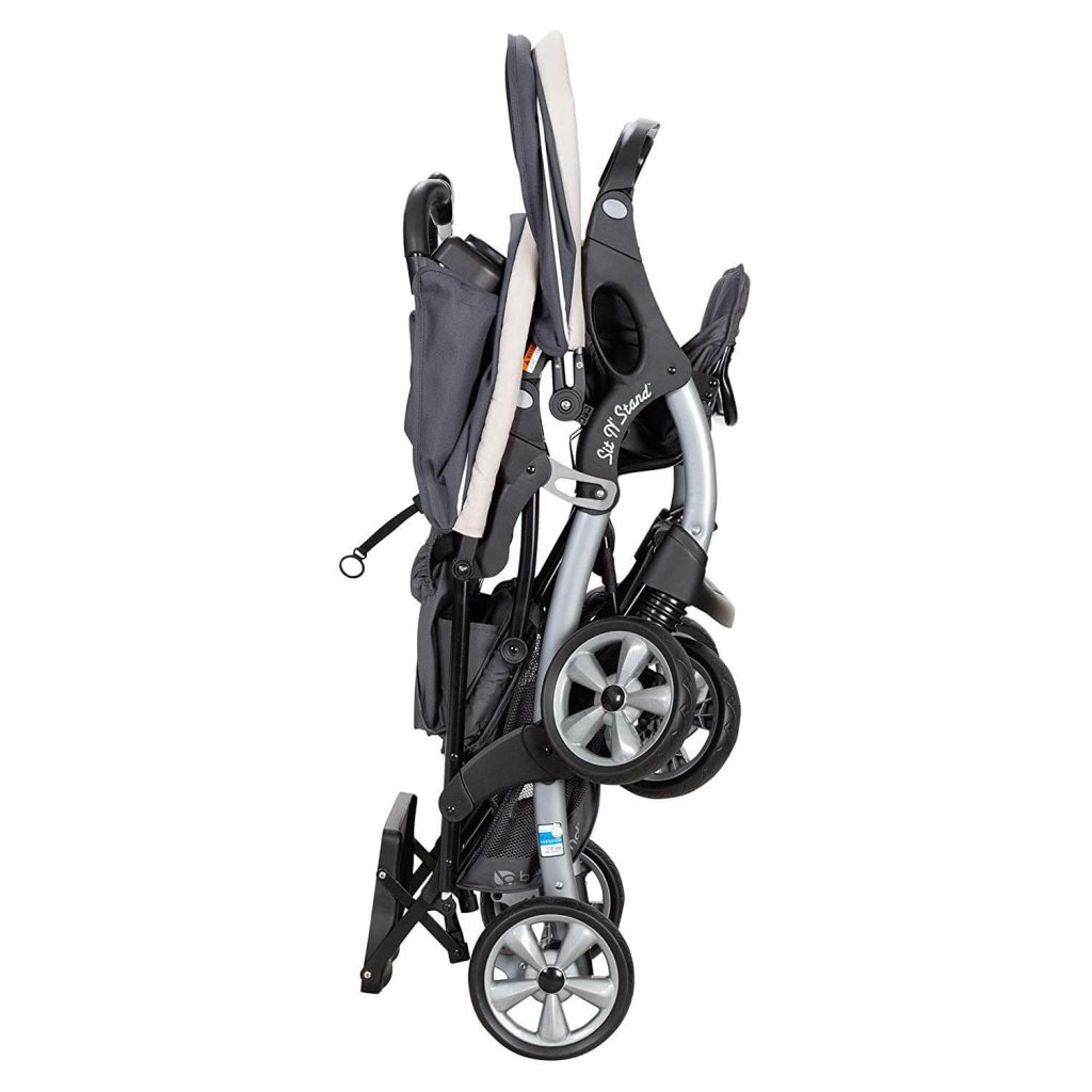 Baby trends double sit n stand stroller easy folding