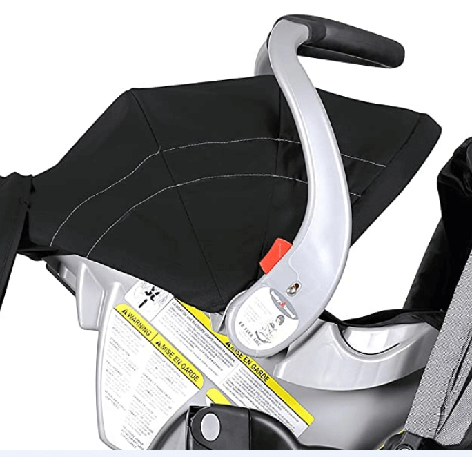 The Canopy of baby trends double sit n stand stroller
