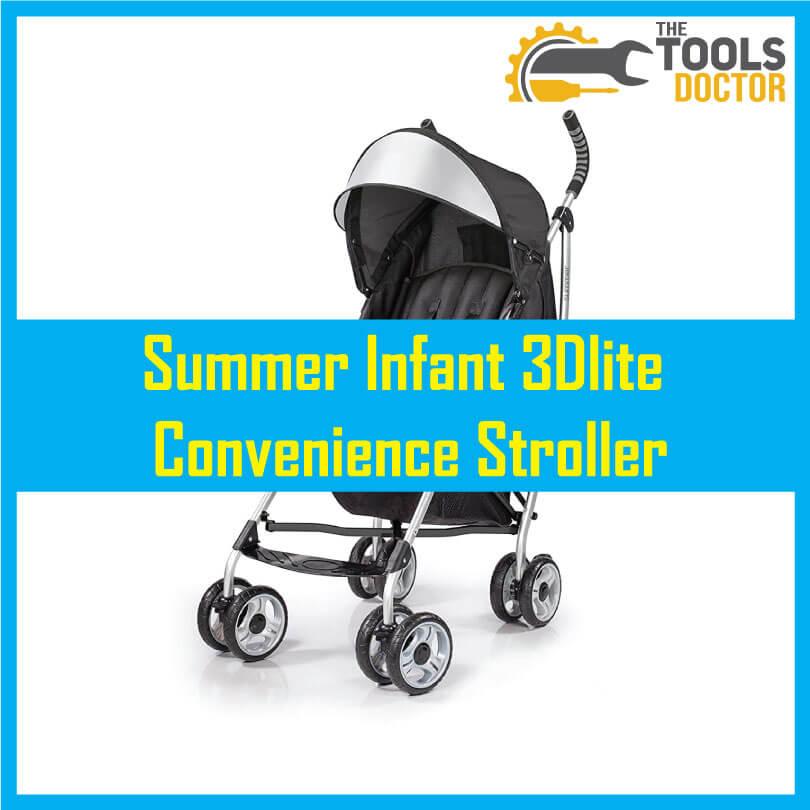 Summer-Infant-3Dlite-Convenience-Stroller-best-for-infant