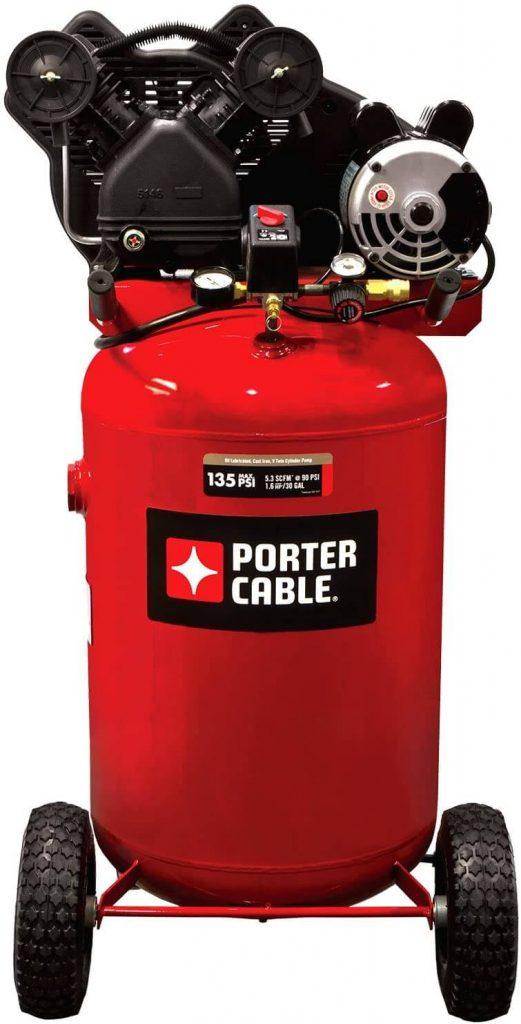 Porter Cable 30-Gallon Single-Stage Portable Air Compressor