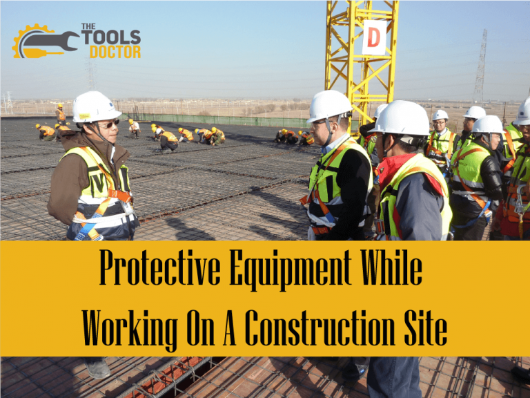 safety equipment on construction site